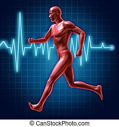 corriente, condición física