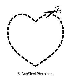 Corta el corazón