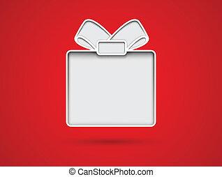 Corta la tarjeta de regalo