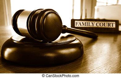 Corte familiar