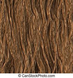 corteza, árbol, textura