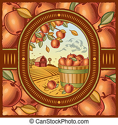 cosecha, manzana