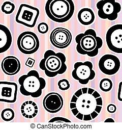 Cosiendo botones sin costura