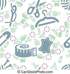 Cosiendo patrones sin costura