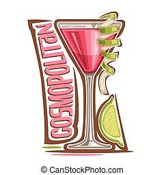 cosmopolita, cóctel