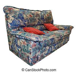 Couch con almohadones