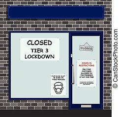 covid, grada, lockdown, 3