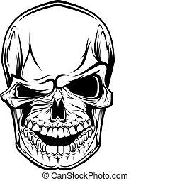 Cráneo peligroso