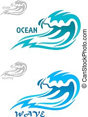 Creando ondas oceánicas