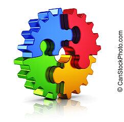 Creatividad empresarial y concepto de éxito