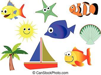 Creaturas de mar