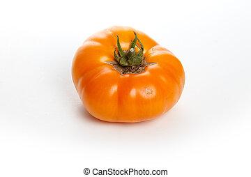 crecido, hogar, tomate
