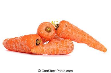 crecido, hogar, zanahorias