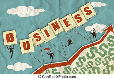 Crecimiento de negocios