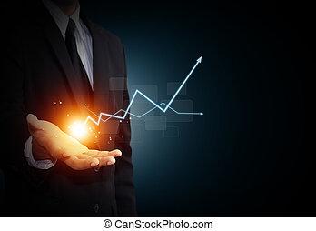 crecimiento, empresa / negocio