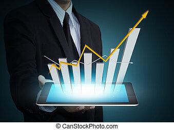 Crecimiento en tecnología de tablas