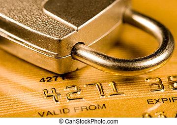 credito, seguridad, tarjeta