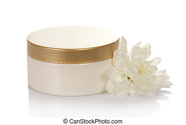 Crema cosmética para el cuidado