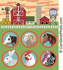 Criar animales de granja