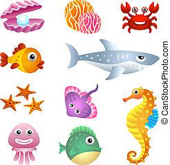 Criaturas marinas