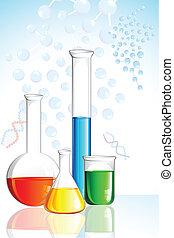 cristalería laboratorio