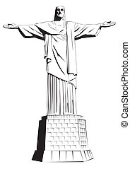 Cristo el redentor, el veterinario detallado