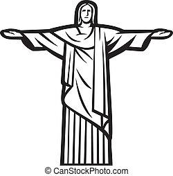 Cristo, la estatua del redentor