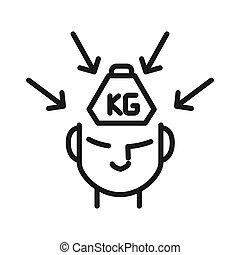 Critica y diseño de ilustración de presión