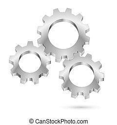 cromo, gearwheel
