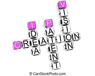 crucigrama, creación