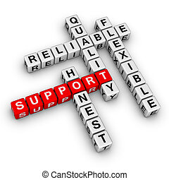 Crucigrama de apoyo