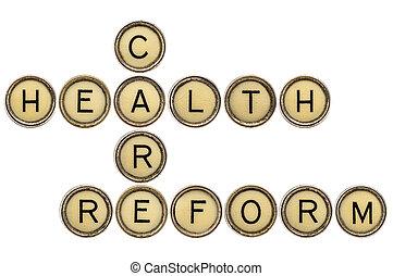 Crucigrama de reforma de salud