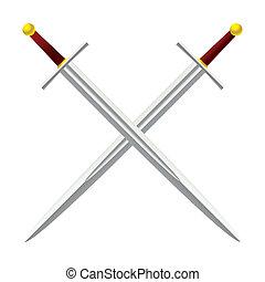 cruz, espada