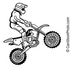 cruz, moto