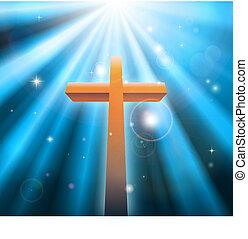 Cruza la religión cristiana