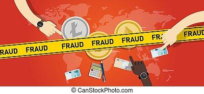 cryptocurrency, fraude, scam., inversión, riesgo, dinero, digital, transacción, crypto, seguridad