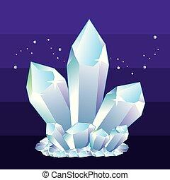 Crystalsvector.eps