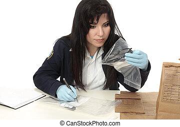 CSI documentando pruebas