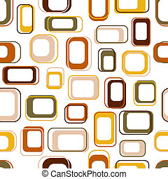 cuadrados, seamless, retro