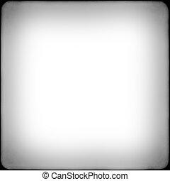 Cuadro blanco y negro con vignetizador