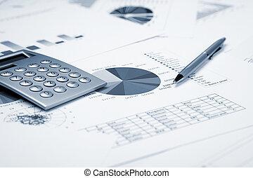 Cuadros financieros y gráficos