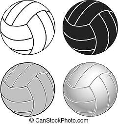 cuatro, maneras, voleibol