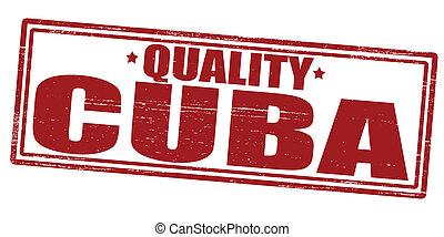 Cuba de calidad