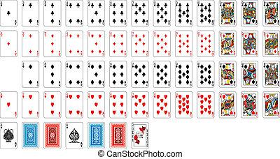 Cubierta de cartas