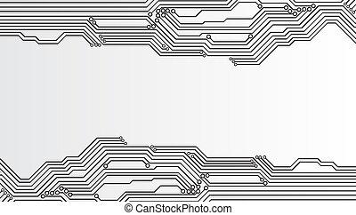 Cubierta de circuitos