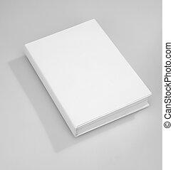 Cubierta de libros en blanco