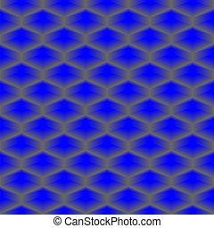 Cubierta de vector azul, patrón inmaculado