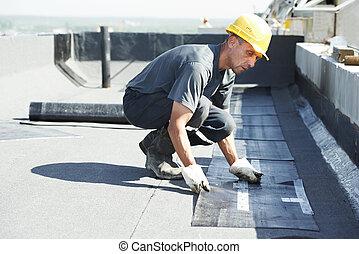 Cubiertas de techos planas con techos