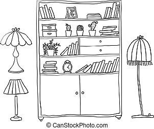 Cubiertas y lámparas, elementos de diseño