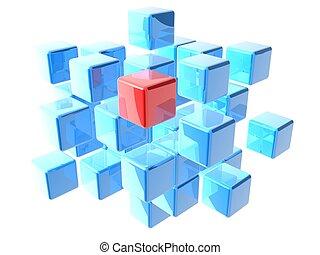 Cubos separados